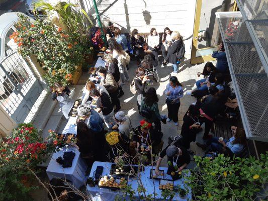 צהרים ל80 איש בפאטיו